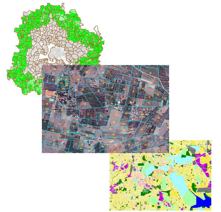 Cadastral Level GIS for Entire Bangalore Metropolitan Area