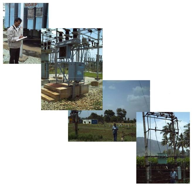 Network Mapping of 33kV, 11kV, LT networks and consumer indexing for Nandi Panchayath